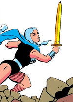 Brunnhilde (Earth-691) from Guardians of the Galaxy Annual Vol 1 3 0001