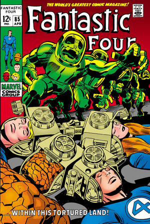 Fantastic Four Vol 1 85