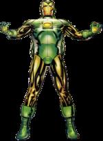 Harold Stark (Earth-9602) from Iron Lantern Vol 1 1 (Cover)