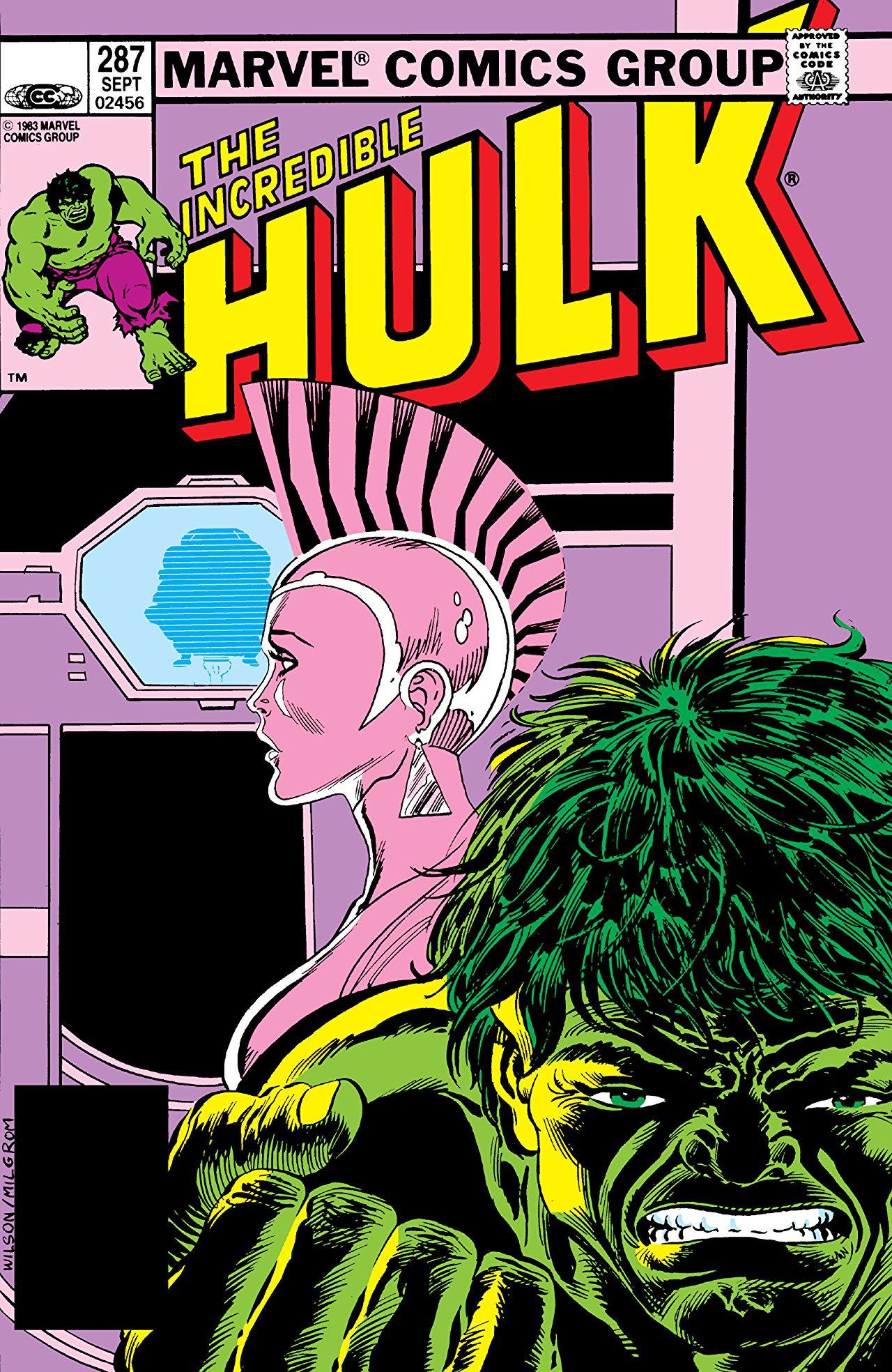 Incredible Hulk Vol 1 287