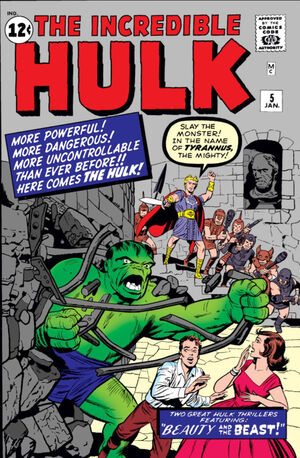 Incredible Hulk Vol 1 5