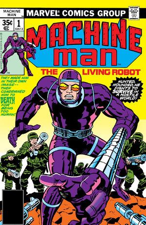 Machine Man Vol 1 1