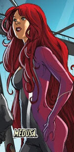 Medusalith Amaquelin (Earth-97161) from Lockjaw and the Pet Avengers Vol 1 1 001
