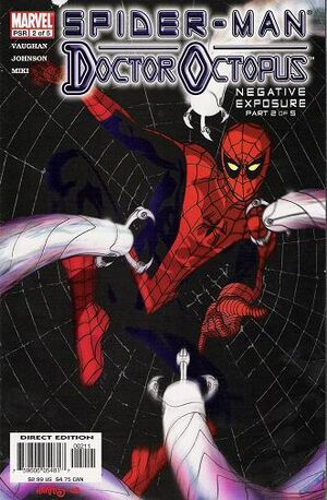 Spider-Man Doctor Octopus Negative Exposure Vol 1 2