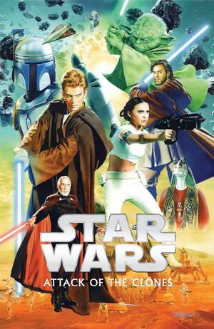 Star Wars Episode II, Attack of the Clones Vol 1 1 Textless