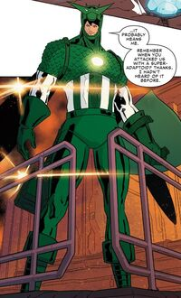 Super-Adaptoid (Earth-616) from Spider-Women Omega Vol 1 1 001