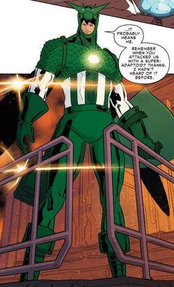 Super-Adaptoid (Earth-616) from Spider-Women Omega Vol 1 1 001