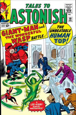 Tales to Astonish Vol 1 50