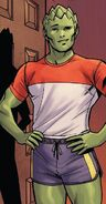 Victor Borkowski (Earth-616) from X-Men Gold Annual Vol 1 1 001