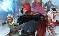 Warriors Three (Earth-TRN012) from Marvel Future Fight