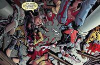 X-Men (Earth-TRN664) and Wade Wilson (Earth-TRN664) from Deadpool Kills the Marvel Universe Again Vol 1 3 001
