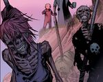 Elsa Bloodstone (Earth-Unknown), Cullen Bloodstone (Earth-Unknown) from Marvel Zombies Vol 2 3 0001