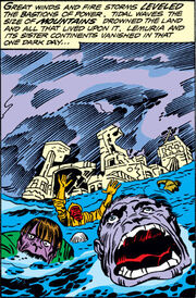 Great Cataclysm from Eternals Vol 1 2 001