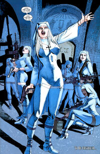 Gun Nuns (Earth-616) from Ghost Riders Heaven's on Fire Vol 1 3 001