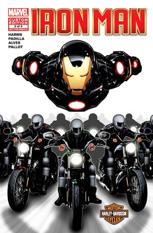 Harley Davidson Iron Man Vol 1 2