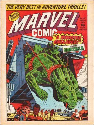 Marvel Comic Vol 1 347