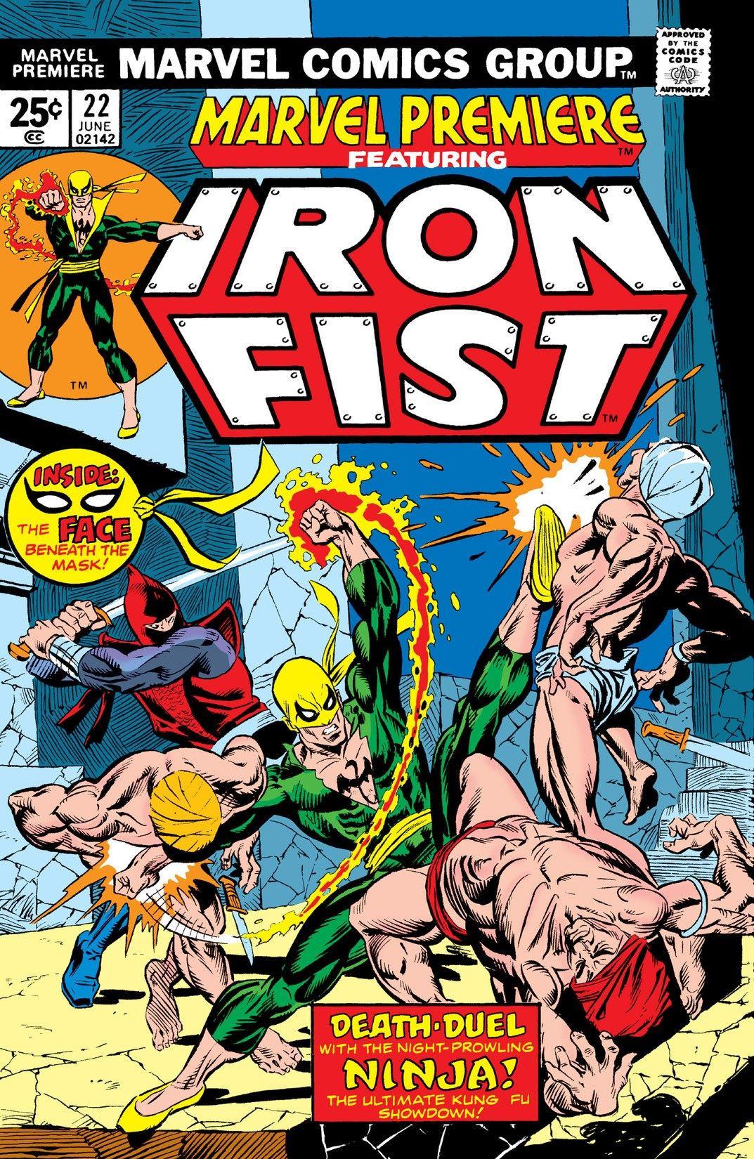 Iron fist 22