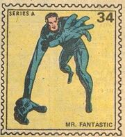 Mr. Fantastic Marvel Value Stamp