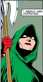 Raches Summers as the Executioner