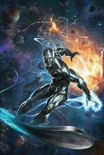 Silver Surfer The Best Defense Vol 1 1 Skan Variant Textless