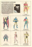 Squadron Supreme (Earth-712) from Official Handbook of the Marvel Universe Vol 1 10