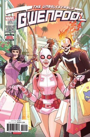 Unbelievable Gwenpool Vol 1 14