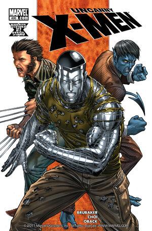 Uncanny X-Men Vol 1 496
