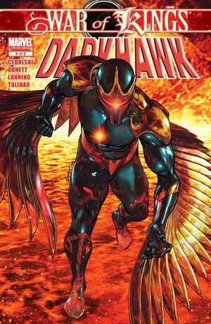 War of Kings Darkhawk Vol 1 2