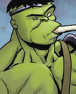 Bruce Banner (Earth-71143) from World War Hulk Font Line Vol 1 4 001