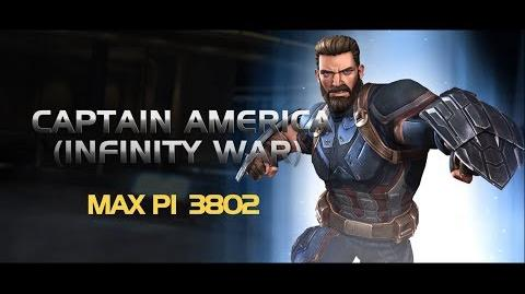 Captain America (Infinity War) Special Moves Marvel Contest of Champions