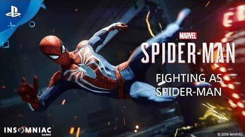Fighting as Spider-Man - Inside Marvel's Spider-Man PS4