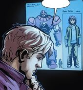 Henry Pym (Earth-616), Juston Seyfert (Earth-616), and Sentinel (Juston) (Earth-616) from Avengers Arena Vol 1 13 0001