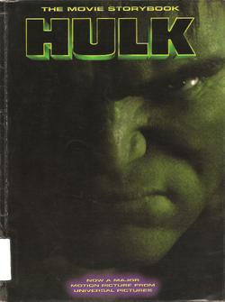 Hulk The Movie Storybook