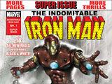 Indomitable Iron Man (B&W) Vol 1 1