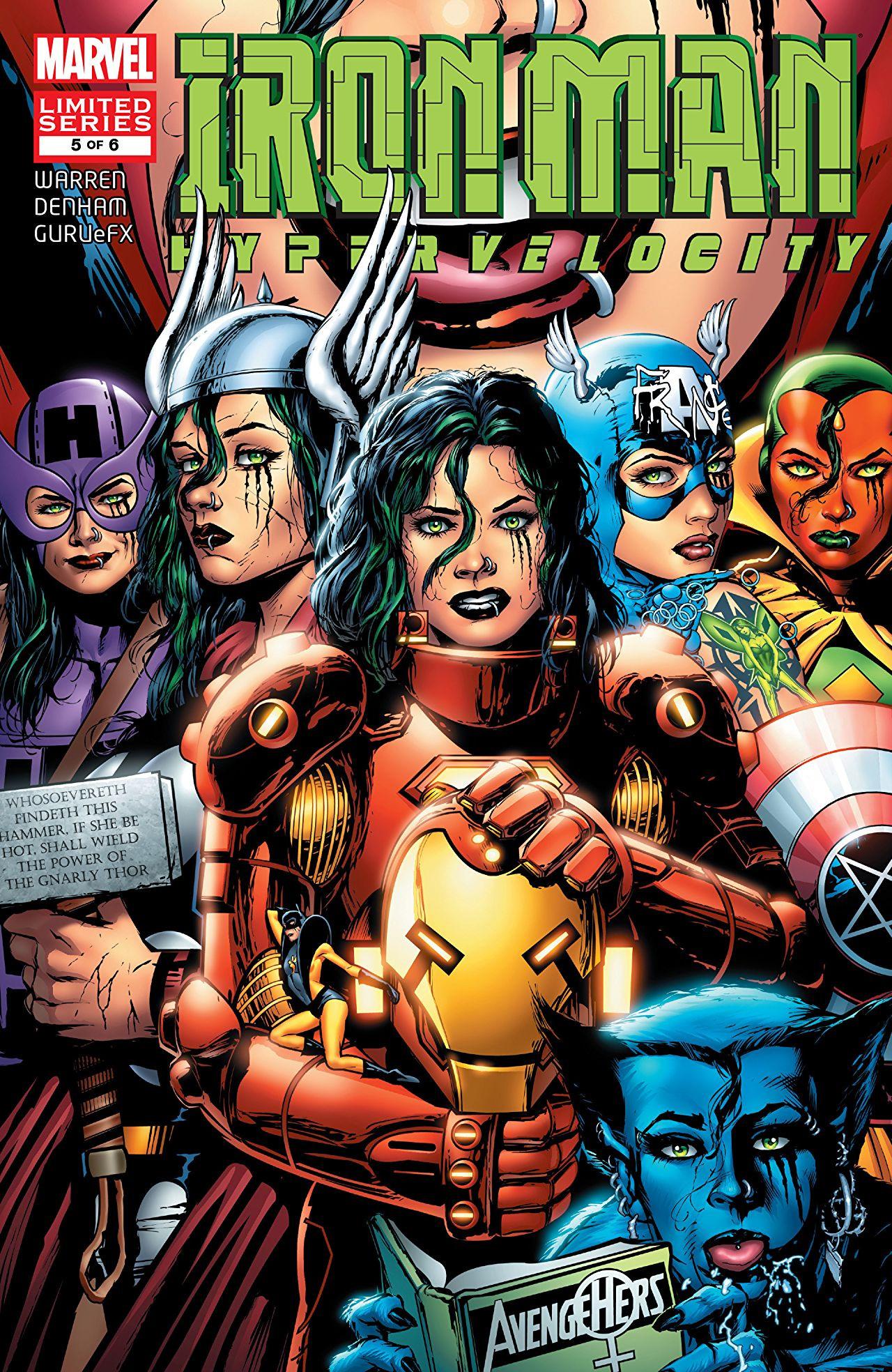 Iron Man Hypervelocity Vol 1 5