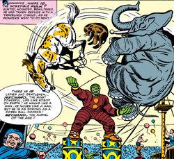 Keibler's Circus (Earth-616) Avengers Vol 1 1 001
