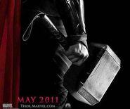 Mjolnir from Thor (film) Poster 0001