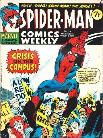 File:Spider-Man Comics Weekly Vol 1 77.jpg