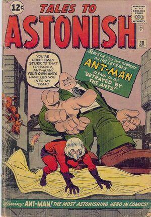 Tales to Astonish Vol 1 38 Vintage