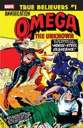 True Believers Annihilation - Omega the Unknown Vol 1 1