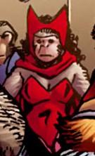 Wanda Maximoff (Earth-8101) from Marvel Apes Vol 1 1 001