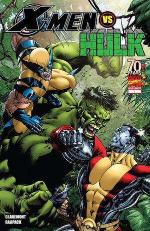 X-Men vs Hulk Vol 1 1