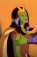 Anelle (Earth-534834) from Fantastic Four (1994 animated series) Season 2 10 0001