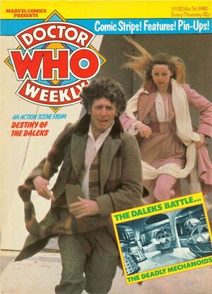 Doctor Who Weekly Vol 1 21