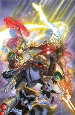 Guardians of the Galaxy Vol 3 18 Marvel Comics 75th Anniversary Variant Textless