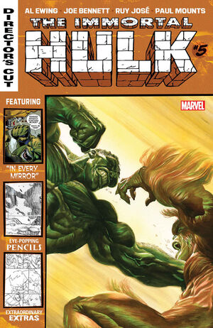 Immortal Hulk Director's Cut Vol 1 5