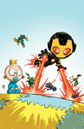 Iron Man Vol 5 1 Baby Variant Textless