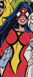 Jessica Drew (Earth-TRN708) from Silver Sable and the Wild Pack Vol 1 35 0001