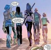 Mach Two's Renegades Team (Earth-1610) from Ultimate Comics X-Men Vol 1 22 0003