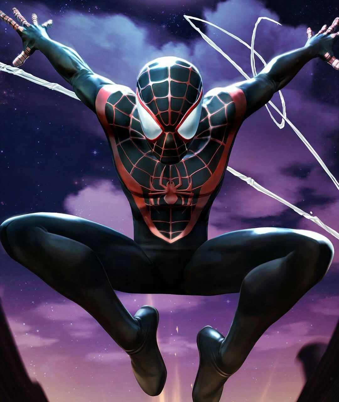 Image result for marvel contest of champions spider man miles morales